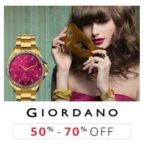 Amazon Fashion Sale: 50% to 70% Off on GIORDANO