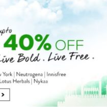 nykaa republic day sale upto 40% off on top beauty brands