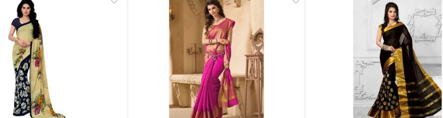 shopclue saree offers