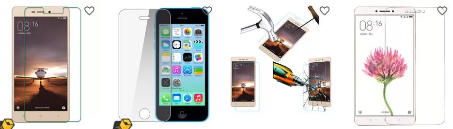 snapdeal offers upto 90% off on the tempered glass for your top mobiles