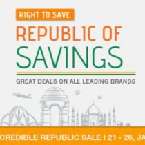 snapdeal republic day offers 2017