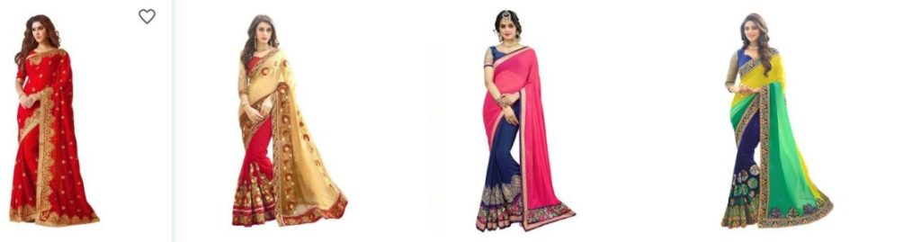 snapdeal saree collection with best offers