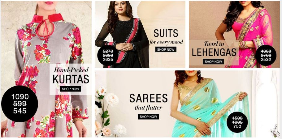 Buy 1 Get 1 Offer – Limeroad on Women Dresses, Jeans, Kurtis, Sarees, Bags, Jewellery, Shoes, Home Decor