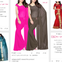 Online Saree Sale - Buy 1 Get 1 Free on Designer Sarees from Limeroad