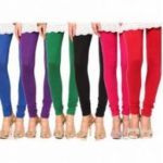 Stylobby Multicolor Cotton Lycra Plain Leggings For Women (Pack Of 6) @ Rs 369 88% OFF