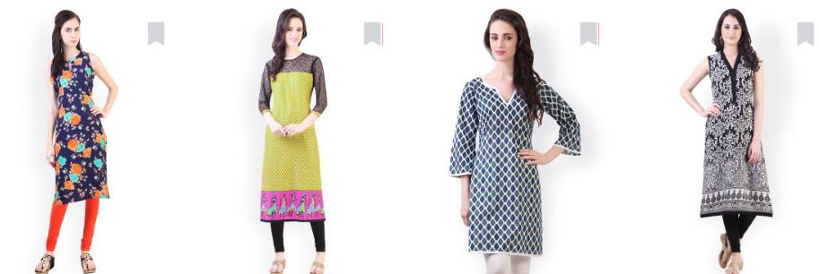 myntra kurtas below Rs 200