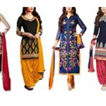 Super Deal Women's Printed Unstitched Regular Wear Salwar Suit Dress Material (Combo pack of 6)