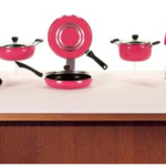 10 Pc Apple Non-Stick Cookware set By Sheffield Classic on homeshop18.com at just Rs 1599