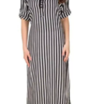 16 Always Striped Crepe Kurti originally priced at Rs. 1298 is at a throwaway price of Rs. 427