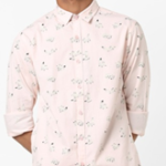 AJIO printed slim fit shirt now available on ajio.com at just Rs 899