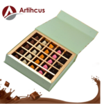 ARTIHCUS Delicious Rich Assorted Chocolates Gift Box, Magnetic Green Jewellery Box – 25Pc on amazon.com at just Rs 849