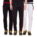 American-elm men's cotton track pants of 3 now available on voonik.com at just Rs 1099