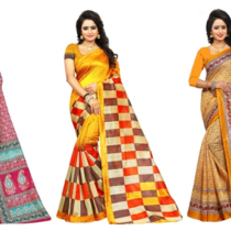 Bhagalpuri Silk Sarees at 50% off