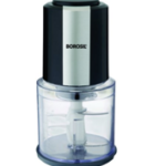 . Borosil Chefdelite BCH20DBB21 300W Twin Blade Technology Chopper, Black available on Amazon for just Rs 1535.