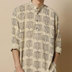 Buy Exclusive hand block print kurta at a 45% off only on Ajio.com