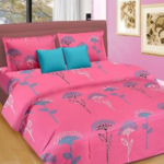 Cortina Satin Double Bed Sheet Set along with pillow covers worth Rs. 2598 at a throwaway price of Rs. 639 only at HomeShop18
