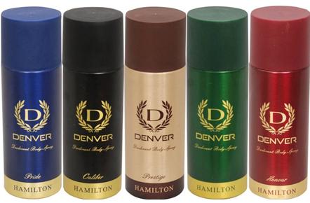 Denver Prestige,Hamilton,Honour,Caliber & Pride Combo (Set of 5) Combo Set