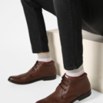 ESCARO textured chukka boots on ajio.com at just Rs 1624