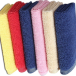 Earth Ro System 6 Piece Cotton Bath Linen Set  (Multicolor, Pack of 6) at just Rs 699
