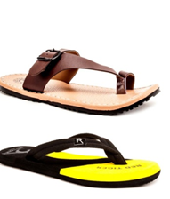 Elegant lightweight. Comfortable, daily wear slipper for men on voonik.com at just Rs 578