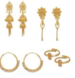 Fashion jewellery combo worth Rs. 1899 at Rs.649