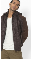 Fort Collins hooded bomber jacket