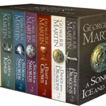 GAME OF THRONES THE STORY CONTINUES 7 Book Boxset