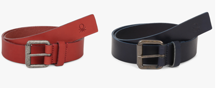 Genuine leather belt at 35% discount