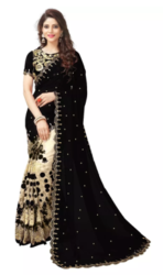 Georgette Embroidery Saree at 40% off
