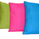 HOME SHINE Striped Cushions Cover  (Pack of 5, 40 cm*40 cm, Multicolor) available on flipkart with 77% off.
