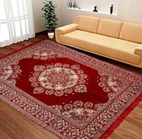 HOME STYLE Multicolor Velvet Carpet