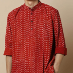 Hand block Print Super Short Kurta with Full Sleeves worth Rs.1499 only at Rs.824. Hurry up!