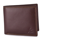 Hornbull Men's Brown Stella Genuine Leather RFID Blocking Wallet