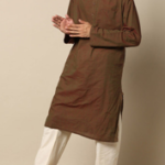 Indie picks, full sleeve south cotton long kurta on ajio.com at Rs 750