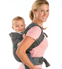 Infantino 4-In-1 Convertible Carrier - Light Grey on amazon.com at just Rs 2765