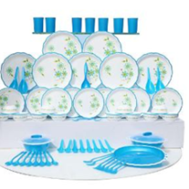 Joyo 84 Pc Designer Microwaveable Dinner Set