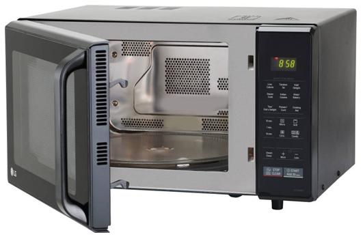 LG 28 L Convection Microwave Oven (MC2846BG, Black) on flipkart at just Rs 10999