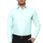 Lee Marc Solid Formal Shirt for Men's on voonik.com at Rs 499