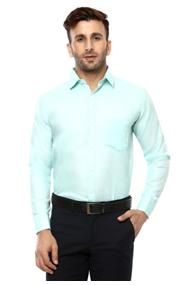 Lee Marc Solid Formal Shirt for Men's on voonik.com at Rs 499