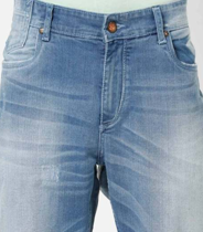 Lightly washed tapered jeans on ajio.com at Rs 1000