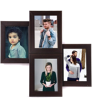 WENS 4-Picture MDF Photo Frame (20 inch x 16 inch, Black, WS-4013) on amazon at just Rs 652