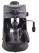Morphy Richards Europa Espresso - Cappuccino 4 Cups Coffee Maker