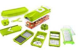 Nashware Multifunctional Dicer Plus Multi Purpose Chopper, Vegetable Cutter & Fruit Slicer for just Rs 499