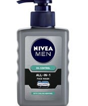 Nivea Men Oil Control All In One Face Wash Pump