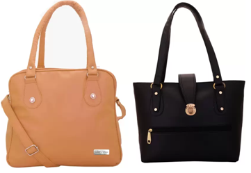 Pack of 2 handbags at 75% off