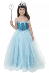 Party ball gown for kids at 46% off