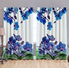 Polyester Eyelet Door Curtains