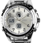 Predictway Skmei Silver Analog Digital Watch now at just Rs 1199 on voonik.com