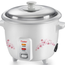 Prestige Delight PRWO – 1.0 Electric Rice Cooker  (1 L, White) on flipkart at just Rs 1249