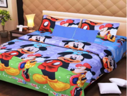 Printed Double Bedsheet at 85% off